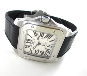 Cartier CARTIER SANTOS 100 WATCH WRISTWATCH GENTS MEN 2656 STAINLESS