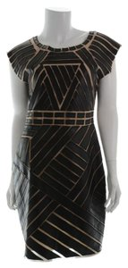 Catherine Malandrino Sleeveless Leather Dress