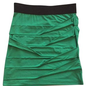 BCBGeneration Mini Skirt Green