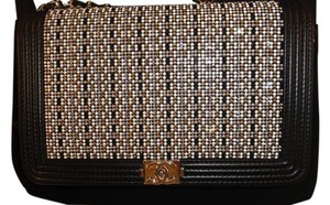 Chanel Woc And Silver Shoulder Bag