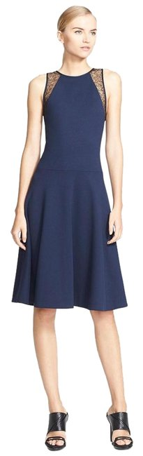 Preload https://img-static.tradesy.com/item/20133480/jason-wu-navy-new-lace-trim-ponte-fit-and-flare-knee-length-workoffice-dress-size-0-xs-0-1-650-650.jpg