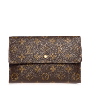 Louis Vuitton Monogram Coated Canvas Portfolio Wallet