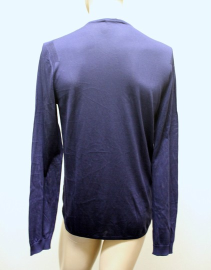 Gucci Navy New Buttoned Men's Silk Sweater Top Xxl 2xl 260483 4440 Groomsman Gift Image 4