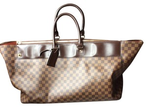 Louis Vuitton Travel Damier Ebene Neverfull Travel Bag