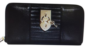 Juicy Couture Leather Wallet Juicy Couture Leather Wallet with Heart Lock and Key