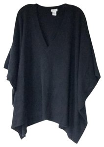 Goats Oversized Poncho V-neck Cashmere Sweater