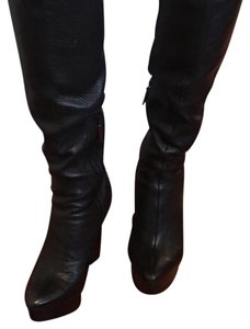 Calvin Klein Pebbled Leather boots Boots