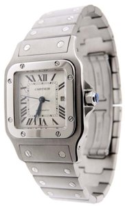 Cartier Cartier Santos 2319 Galbee Automatic SS 29mm Date Watch B & B