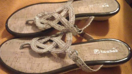 Sperry Tan Sandals Image 1