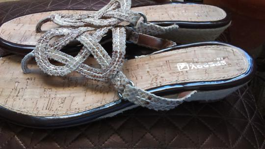 Sperry Tan Sandals Image 7
