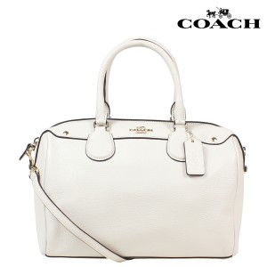Coach Satchel in OLD WHITE