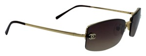 Chanel Stunning Gradient Gold and Brown Chanel Sunglasses 4093-B c.125/13 56