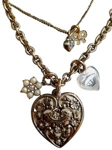 Juicy Couture Heart & Charm Pendant