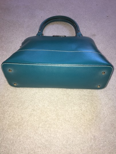Kate Spade Leather Satchel in Green Image 4
