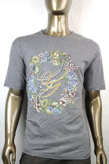 Preload https://img-static.tradesy.com/item/20134405/gucci-grey-new-men-s-cotton-t-shirt-wgg-logo-flower-print-2xl-343517-11037-shirt-0-0-540-540.jpg