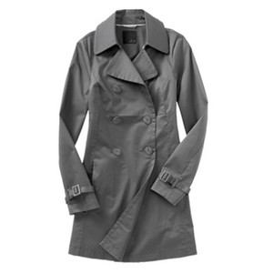 Old Navy Trench Sateen Trench Coat