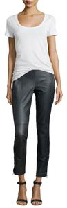 KAUFMANFRANCO Ankle Skinny Couture Skinny Pants Black