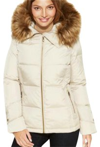 Calvin Klein Luxury Faux Fur Coat