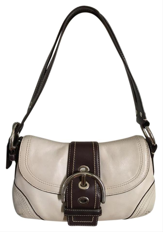 1e885082fdc9 Coach Soho Small White Mahogany Leather Shoulder Bag - Tradesy
