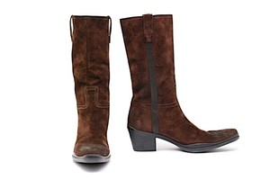 Prada Western Pull On Boots