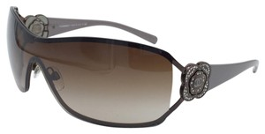 Chanel Stunning Rare Flower Grey and Brown Chanel Sunglasses 4164-B c.296/13