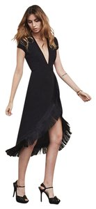 Reformation Fringed Going Out Dress