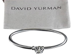 David Yurman David yurman Starburst Single-Station Cable Bracelet with Diamonds