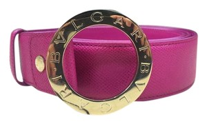 BVLGARI Bvlgari Women Hot Pink Belt Size: 110/44