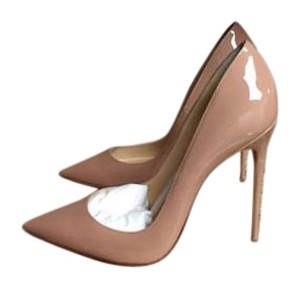 Christian Louboutin So Kates Size 41 Nude Pumps