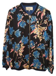 Zara Blue/Floral Jacket