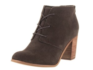TOMS Lunata Lace-up Bootie Chocolate Boots