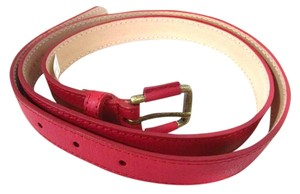 Talbots Paprika Leather Belt