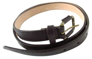 Talbots Bittersweet Leather Belt