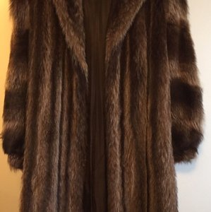 Full length racoon coat Fur Coat