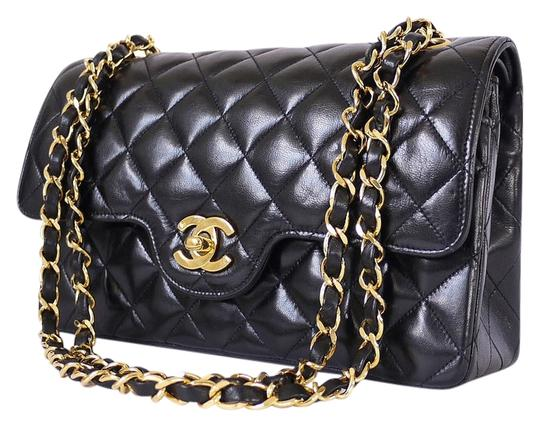 Preload https://item5.tradesy.com/images/chanel-255-reissue-255-reissue-paris-limited-edition-double-flap-classic-black-lambskin-shoulder-bag-2013549-0-0.jpg?width=440&height=440