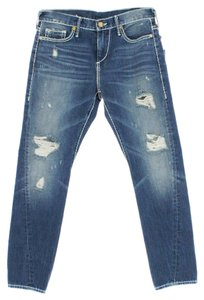 True Religion Nu Boy Skinny Blue Skinny Jeans-Light Wash