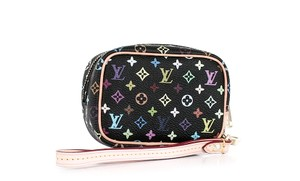 Louis Vuitton Wapity Wristlet in Black Multicolore