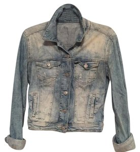 Zara Light Wash Womens Jean Jacket