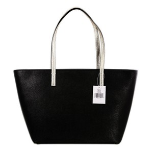 Kate Spade Gallery Drive Small Harmony Leather Tote in Black/Gold