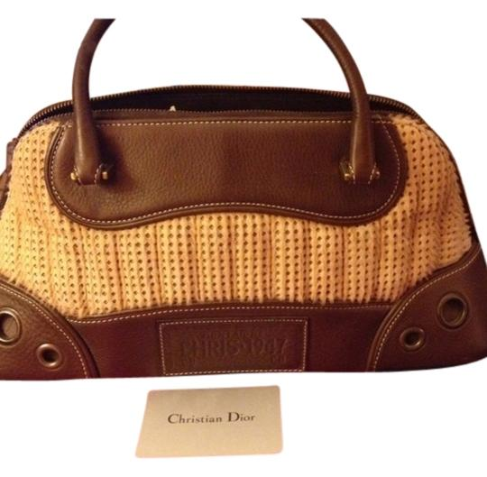 Preload https://item2.tradesy.com/images/dior-christian-with-ponyhair-brown-leather-satchel-2013596-0-0.jpg?width=440&height=440