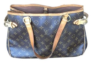 Louis Vuitton Monogram Lv Tote in brown