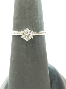 Tiffany & Co. Tiffany And Co Platinum Wedding Ring Solitaire