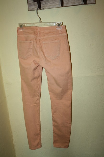 Cello Jeans Skinny Orange Colored Denim Skinny Jeans