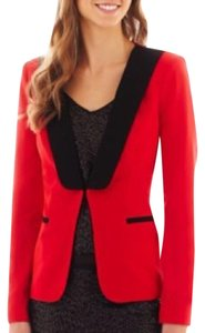 Bisou Bisou Red Blazer