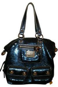 Coach Satchel in Denim blue
