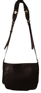 Cole Haan Leather Brown Messenger Cross Body Bag