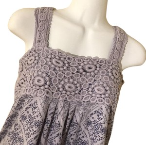 RXB Indigo Lace Shirt Top
