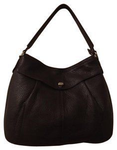 Cole Haan Leather Brown Hobo Bag