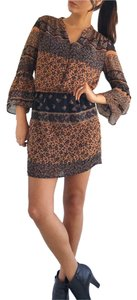 Bar III short dress Black orange on Tradesy
