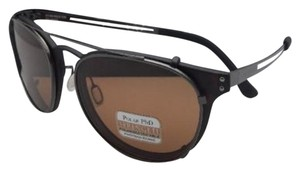 Serengeti SERENGETI Eyeglasses PALMIRO 8054 Tortoise & Gunmetal w/Brown Clip on